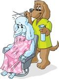 Doggie hairstylist poster