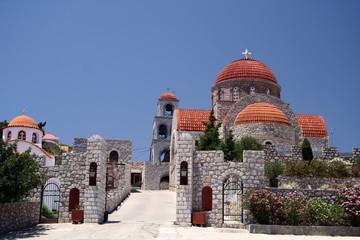monastry at the island of kalymnos
