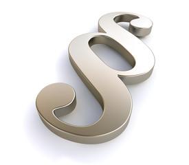 3D Paragraph Symbol