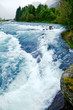 Rushing glacier river