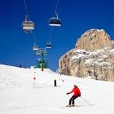 Fototapeta działalność - alpejskie - Sporty Zimowe