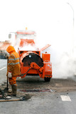 Pavement maintenance during repairing works
