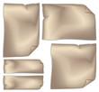 fogli carta straccia