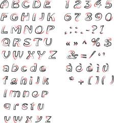 Alphabet - Alfabeto
