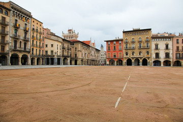 Plaza Mayor in Vic, Catalonia