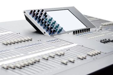 Sound and video mixer
