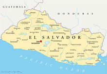 Carte El Salvador (El Salvador Chronique)
