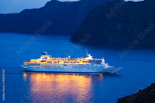 Poster Jacht Luxury Cruise Ship