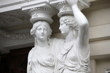 Karyatide - Palais Pallavicini, Wien