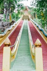 ladder Wat Tham Sua