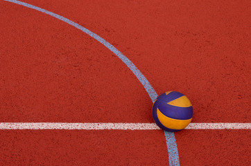 Piłka i boisko