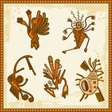 Vector African Tribal Ornaments