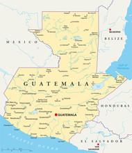 Guatemala Karte (Guatemala Landkarte)
