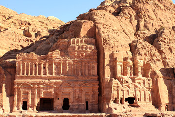 Petra, Lost rock city of Jordan.