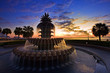 Pineapple Fountain Charleston, South Carolina - 42838133