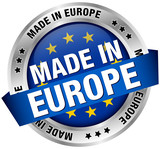 "Button Banner ""Made in Europe"""