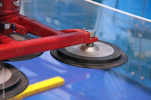 Manipulator for of moving of glass - 42838341
