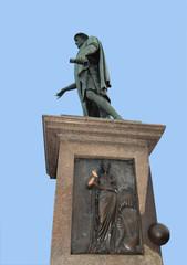 Памятник Дюку Ришелье в Одессе.