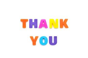 アルファベット THANK YOU