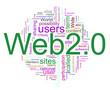Wordcloud of Web 2.0
