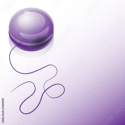 yo-yo purple