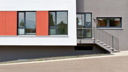 Moderner Hauseingang