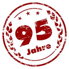 95 Jahre Stempel