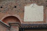 Meridiana della Chiesa S.Donato a Frossasco (To) poster