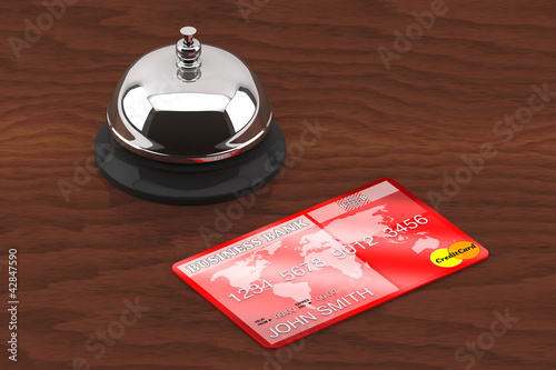 Service bell with Credit Card