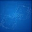 Urban Blueprint (vector). Architectural background
