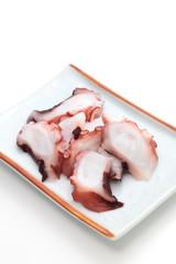 Sashimi, Slices of octopus