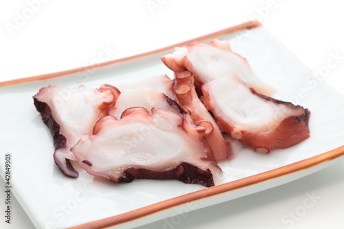 Sashimi, Slices of octopus
