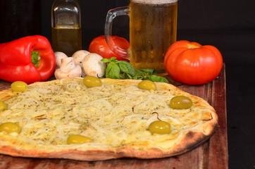 pizza fugaseta