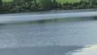 Boot am See mit Wasser Clip