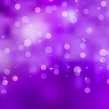 Purple bokeh background. EPS 8