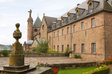 Mont Sainte-Odile abbey in France