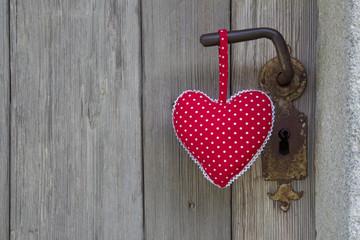 Valentinstag - Türe zum Herzen