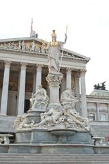 Pallas-Athene-Brunnen vor dem Wiener Parlament