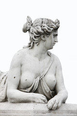 Vienna - Sphinx guarding Schonbrunn Palace