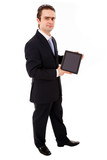 PC; adult friendly; ad wizard; successful; white; tender; clerk; poster