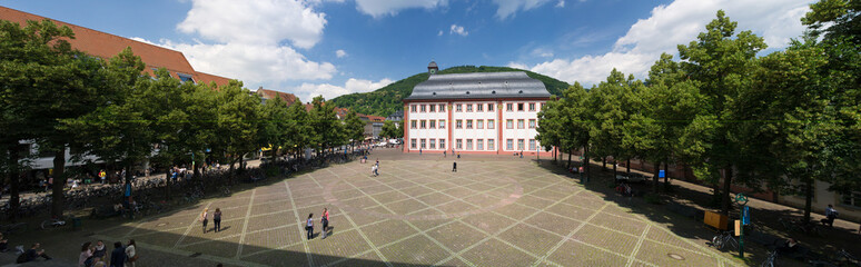 Universitätsplatz in Heidelberg