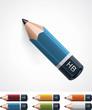 Vector pencil icon