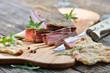 Südtiroler geräucherter Brettlspeck mit knusprigem Schüttelbrot
