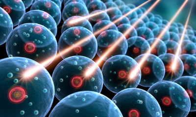 Zellen und Strahlung