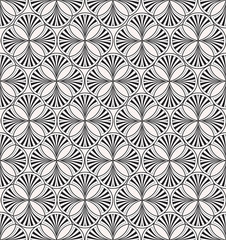 seamless pattern from lines, floral theme, Print