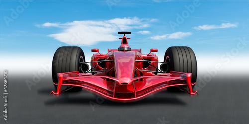 Naklejka f1 racecar
