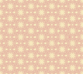 seamless pattern with floral theme, Print