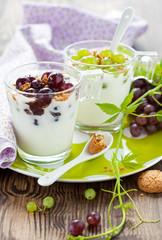 grape dessert