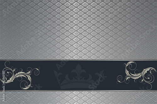 Vintage background for the design of business card.