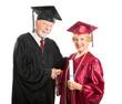 Mature Graduate Receives Diploma
